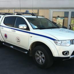 allestimento protezione civile - pick-up cb club macerata - celiani allestimento veicoli