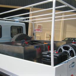allestimento vano posteriore veicolo protezione civile cma antincendio- attrezzatura soccorso - celiani allestimento veicoli