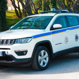 allestimento jeep compass protezione civile cb club maceratese - barra intav - celiani allestimento veicoli