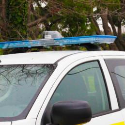 allestimento pick up protezione civile dettaglio barra - celiani allestimento veicoli