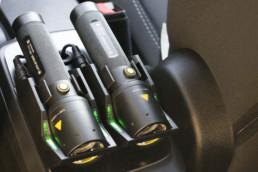 torce led lenser - dettaglio torcia i9r iron - celiani allestimento veicoli e forniture