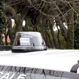 lampeggiante intav per polizia locale - celiani allestimento veicoli speciali e forniture