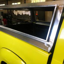 veicoli protezione civile_dettaglio struttura posteriore_ celiani allestimento veicoli e forniture