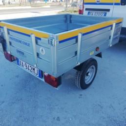 veicoli protezione civile_dettaglio carrello_ celiani allestimento veicoli e forniture