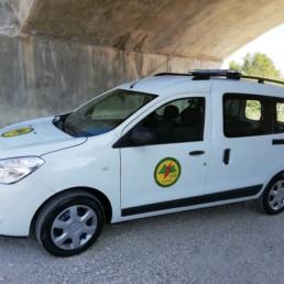 veicoli protezione civile_dokker dettaglio allestimento sonoro luminoso barra leptos intav_celiani allestimento veicoli e forniture