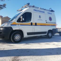 veicoli protezione civile_fiat ducato dettaglio allestimento grafico_celiani allestimento veicoli e forniture